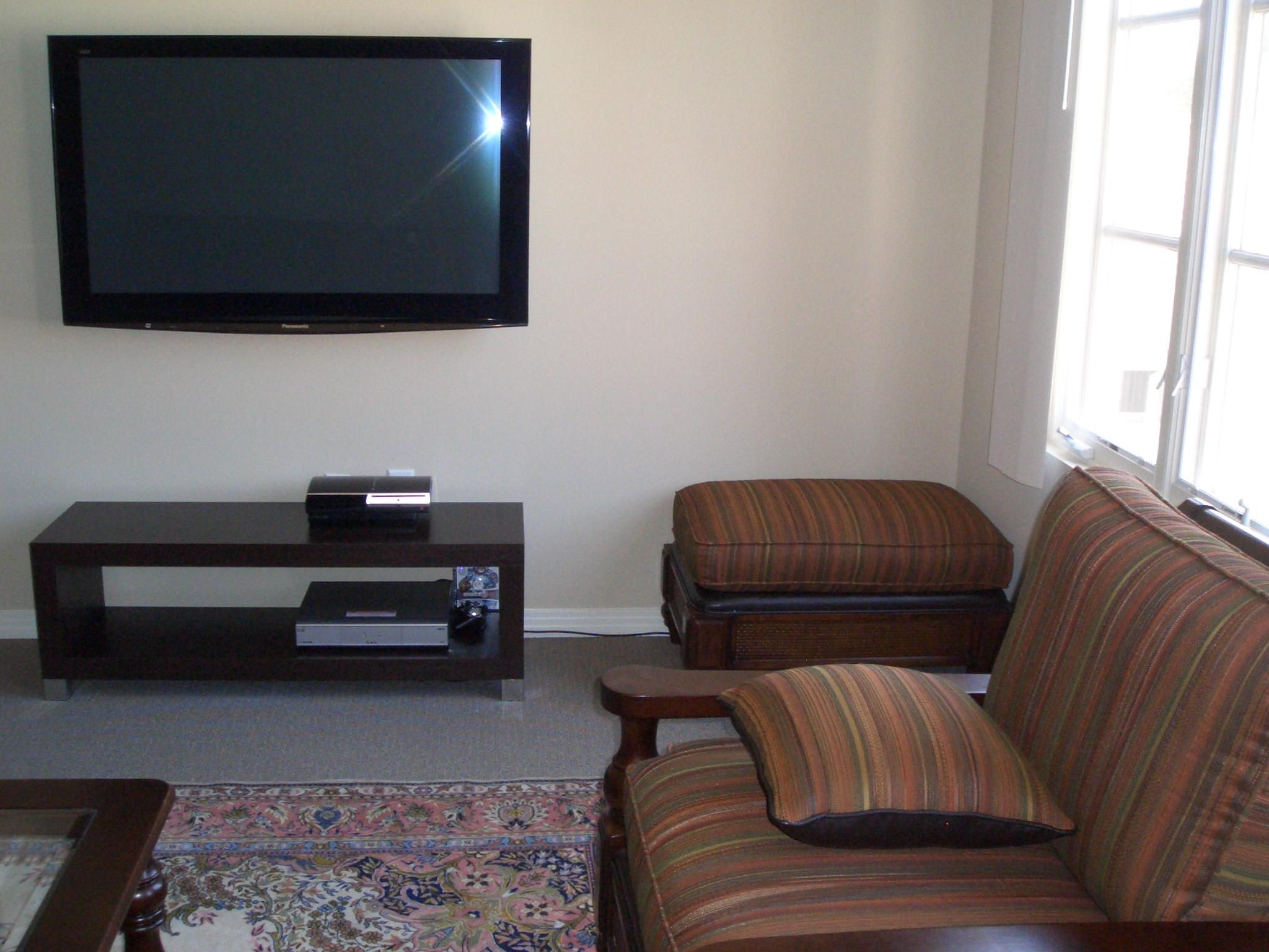 Premium LCD TV Installation