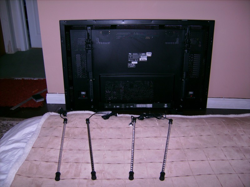 TV w/Light Kit Ready to Mount