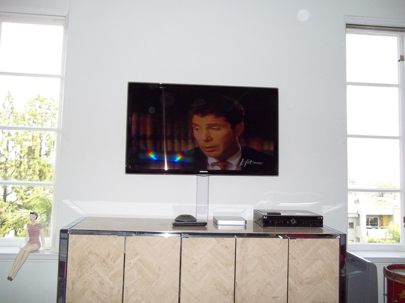 "52"" Samsung LED with molded wire cover"