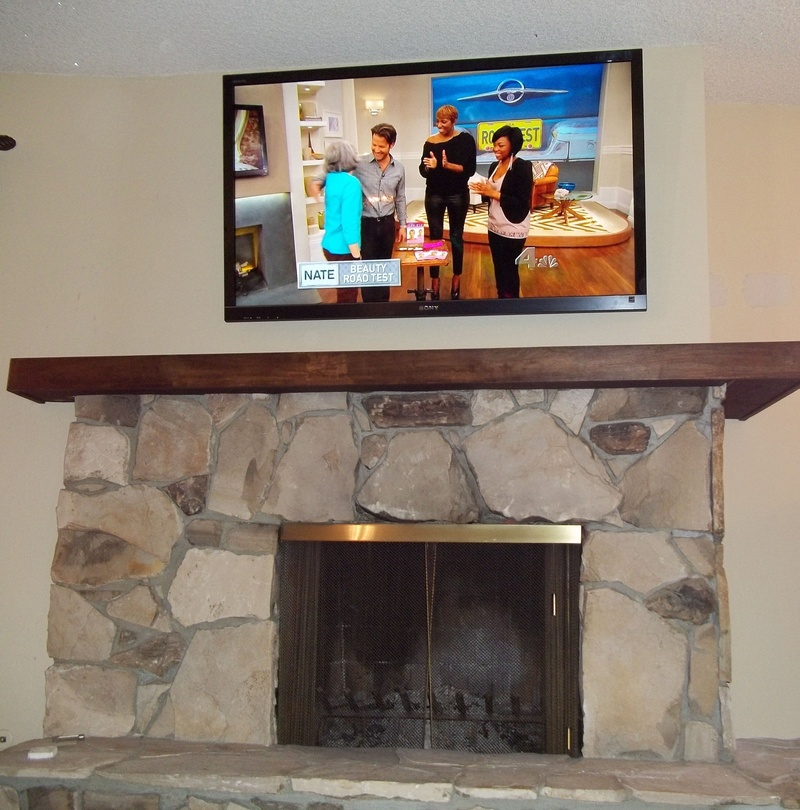 Sony Bravia Plasma TV Premium Fireplace Installation