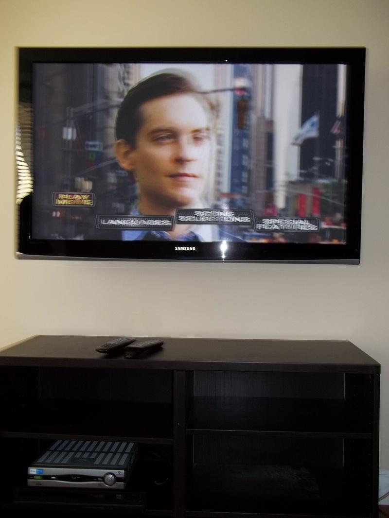 Samsung LCD Premium TV Installation