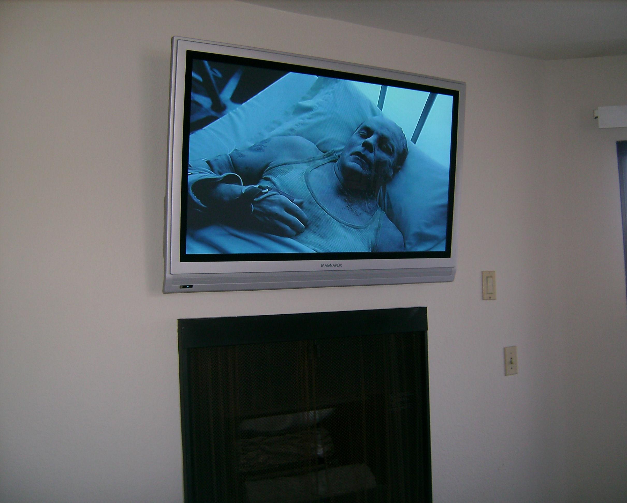 Premium Magnavox TV Fireplace Installation