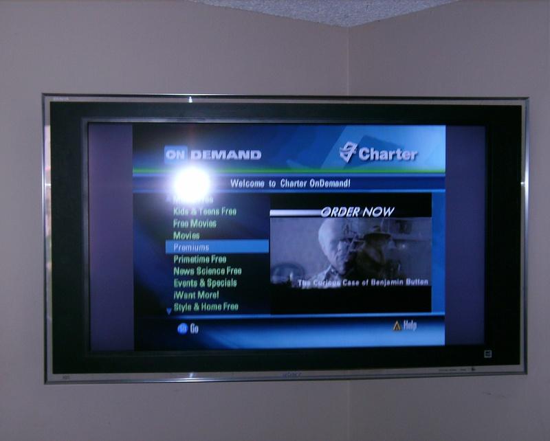 Premium Sony LCD TV Installation