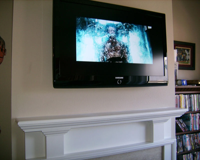 Premium Samsung LED TV Fireplace Installation