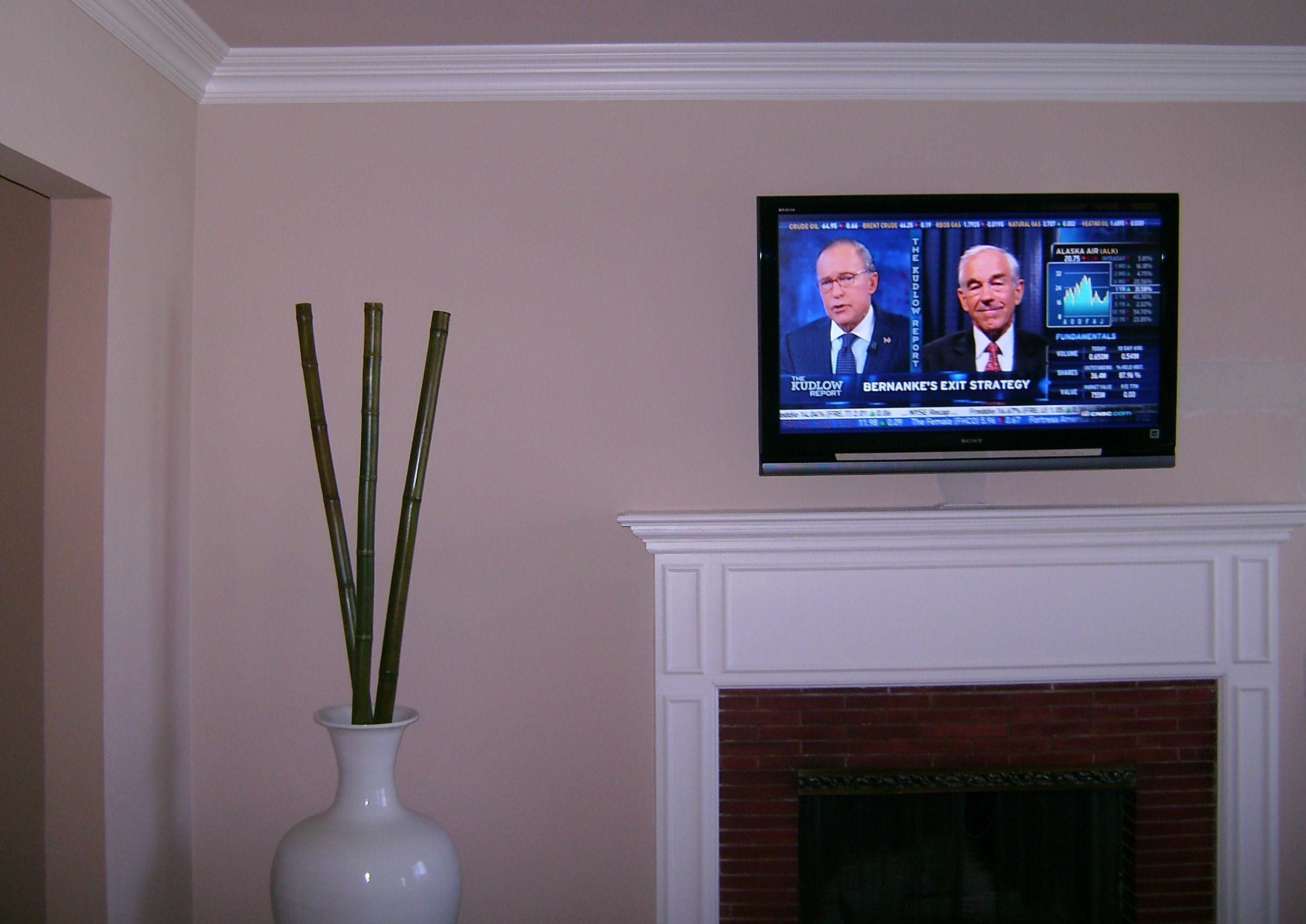 Premium Plasma TV Fireplace Installation