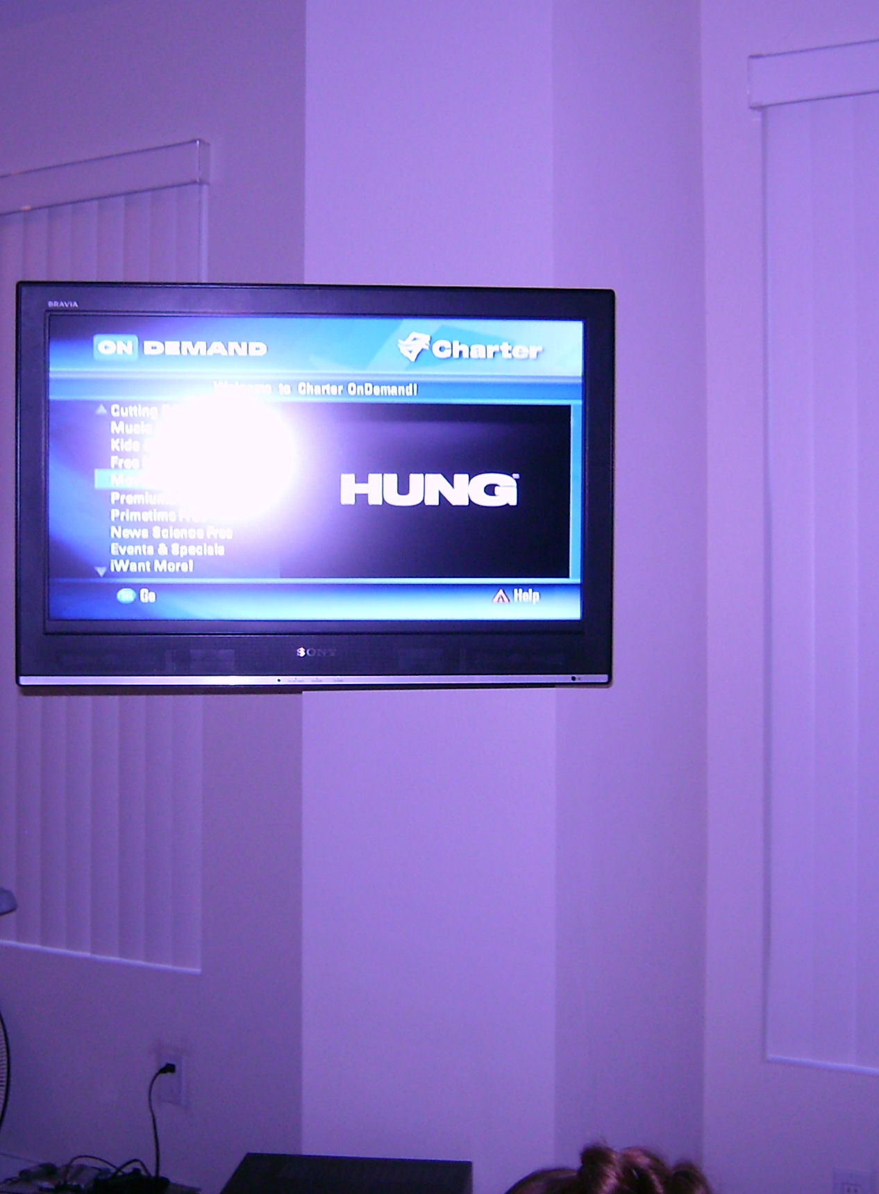 Premium TV Installation on Swivel Wall Bracket