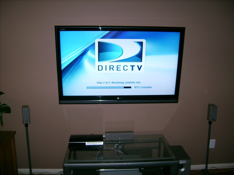 Premium Plasma TV Installation with 5.1 Surround Sound System