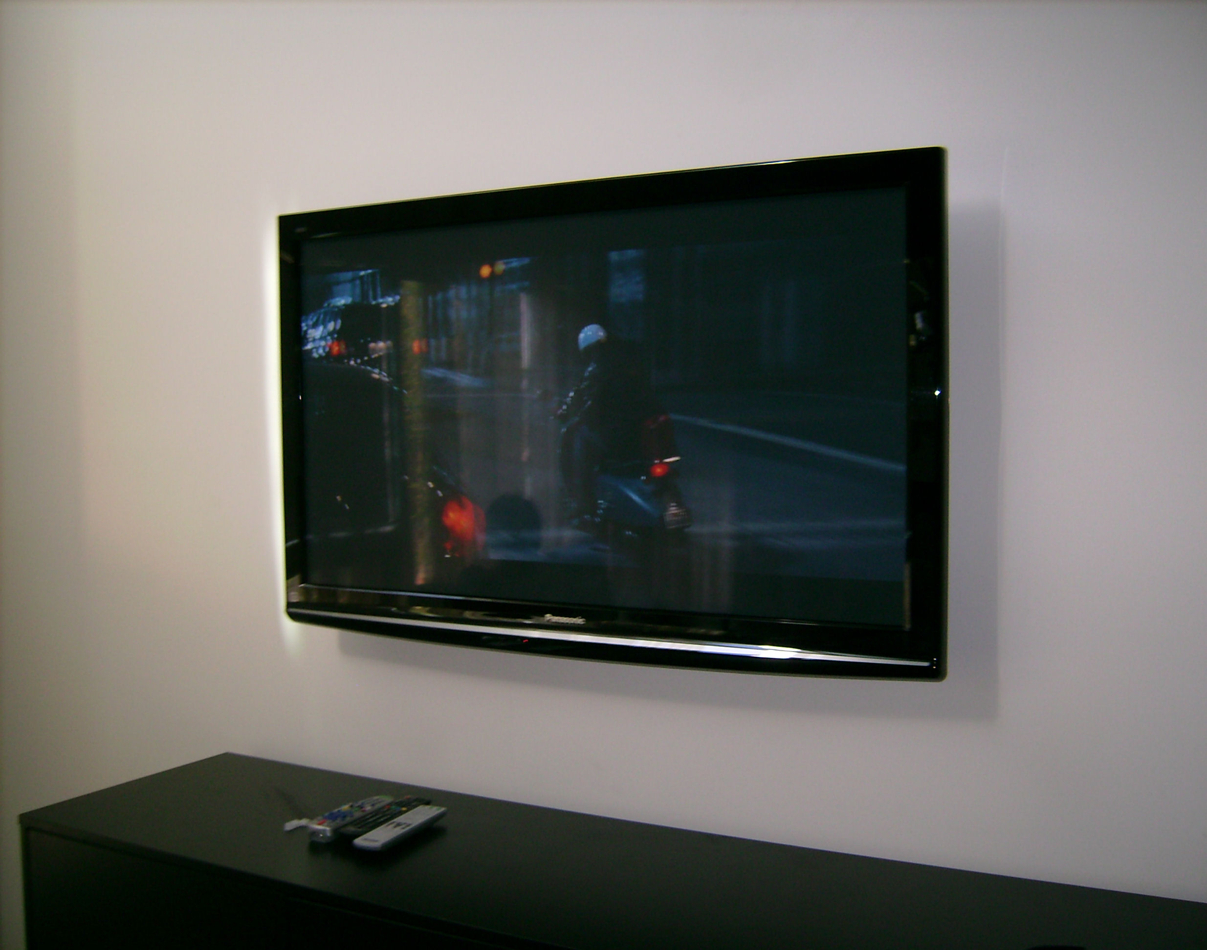 Premium Panasonic Plasma TV Installation