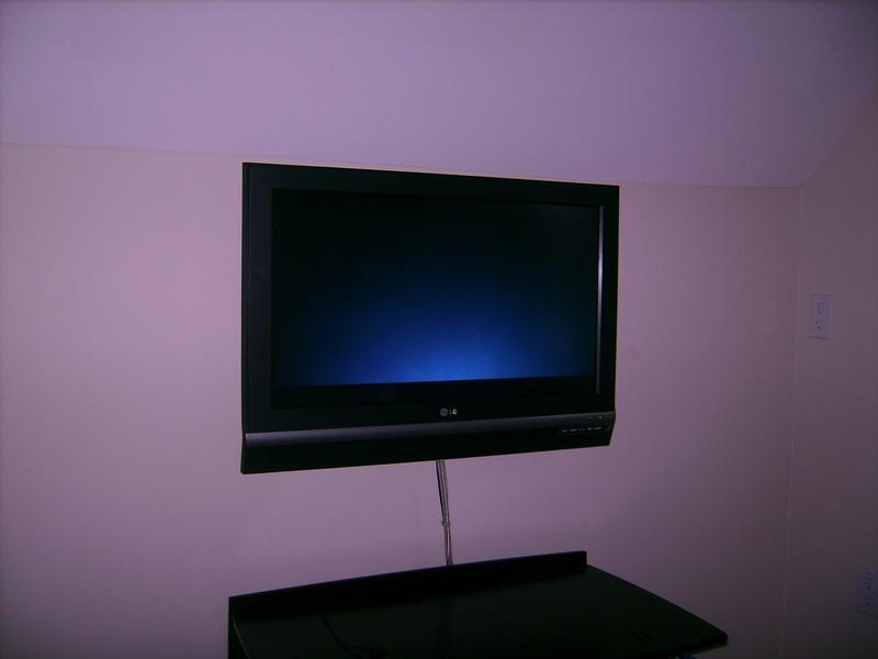 Standard TV Installation LG