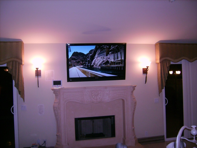 Premium Fireplace TV Installation