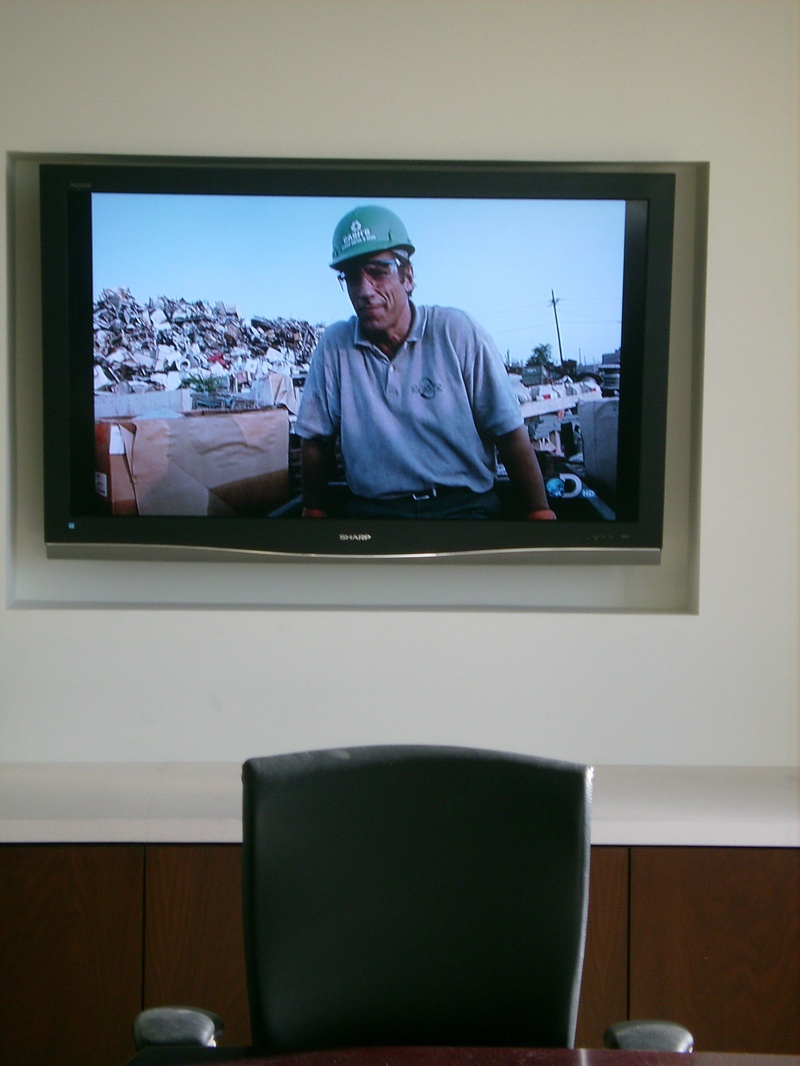 Premium TV Installation in Boardroom