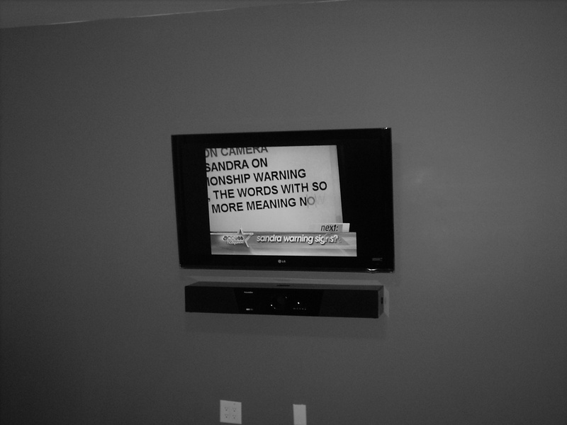 Premium LG LCD TV Installation with Sound Bar