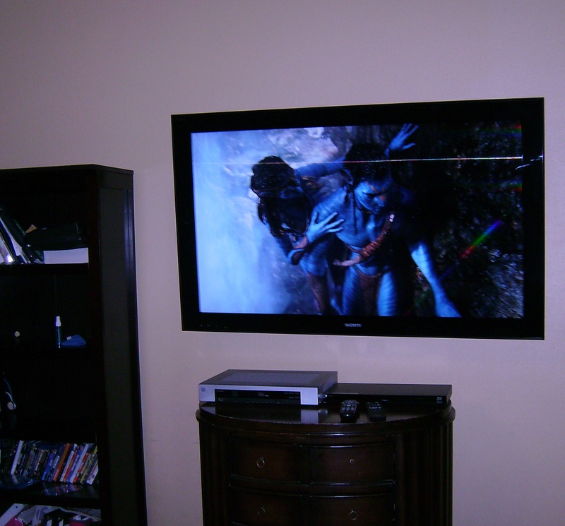 Premium Sony LCD TV Installation