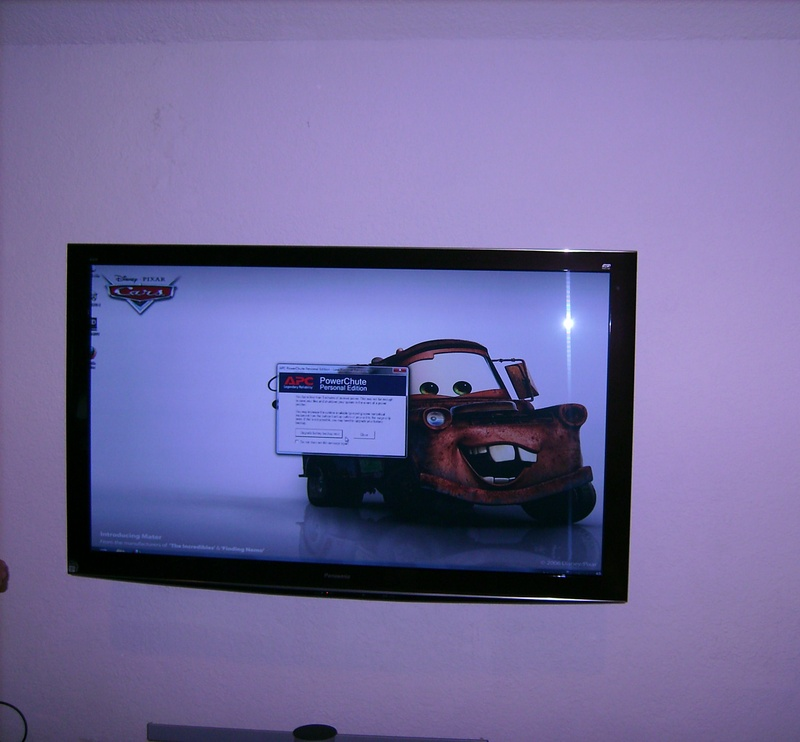 "Premium 65"" Panasonic Plasma TV Installation"
