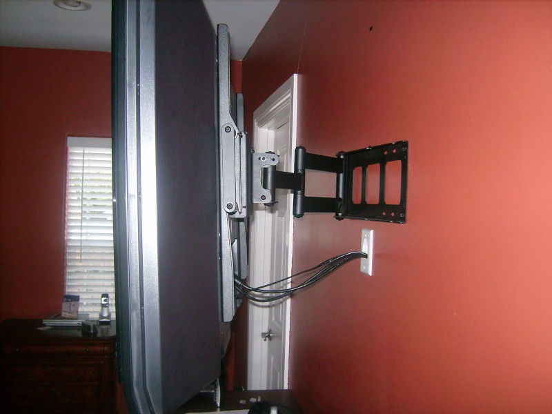 Premium Installation w/Articulating mount