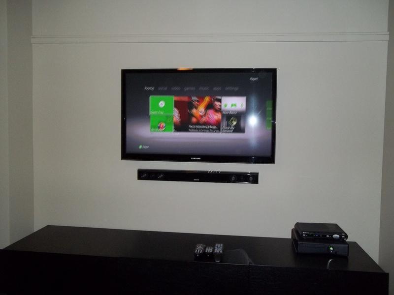 Premium TV Installation w/soundbar